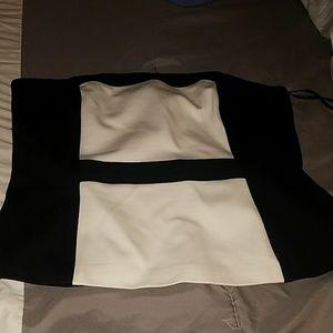 White house/ Black market strapples blouse .